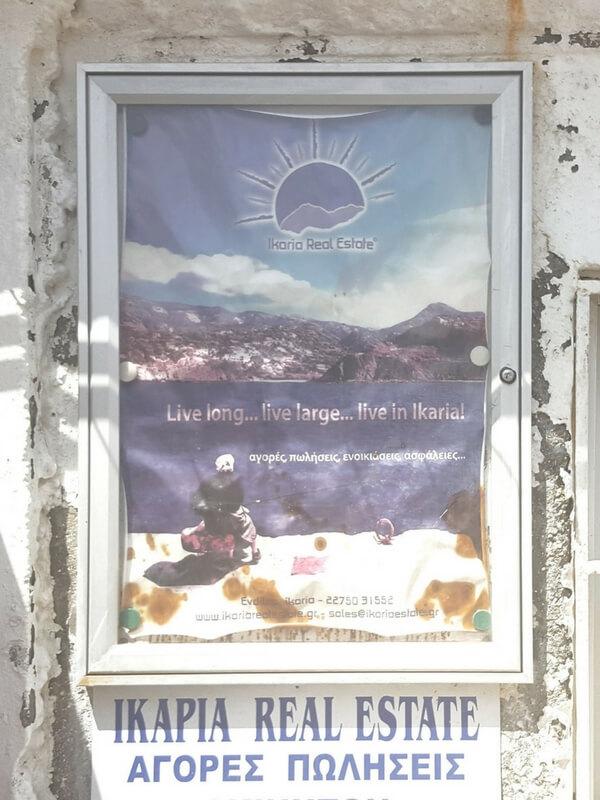 Plakat Ikaria Greece