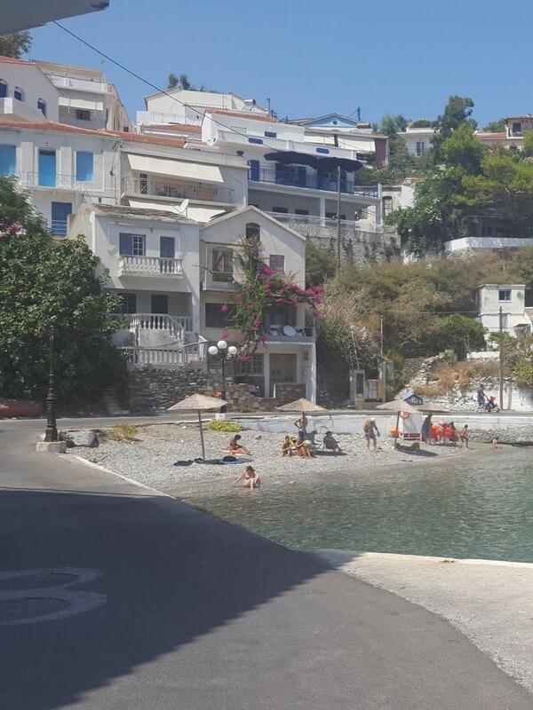 Strand in Evdilos