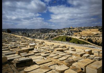 Blick auf Mount Zion