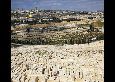Blick nach Jerusalem