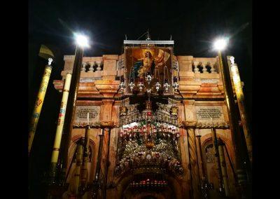 Eingang zu Jesus Grab