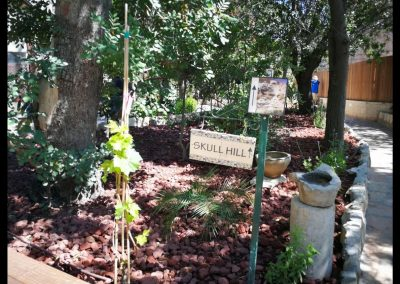 Garten im Gartengrab