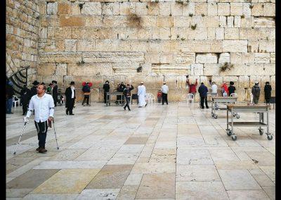 Gebete an der Klagemauer