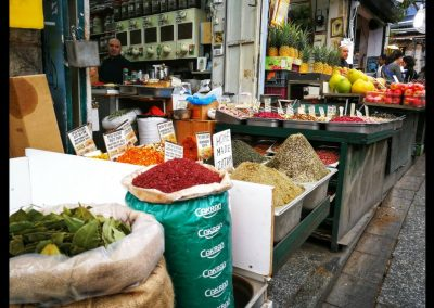 Gewürze am Yehuda Market