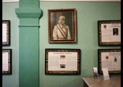 Kaiser Franz Joseph im Hospiz