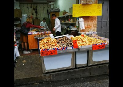 Kokosmakronen am Yehuda Market
