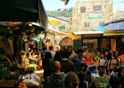Markt im muslimisches Viertel
