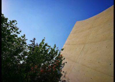 Mauer in Jad Vashem