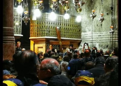 Prozession in der Grabeskirche