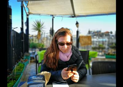 Rooftop Cafe Jerusalem