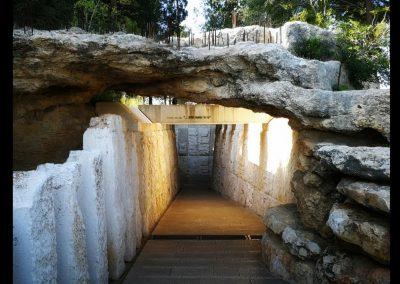 Zur Halle der Kinder in Jad Vashem