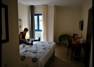 Zweibettzimmer im Eldan Hotel
