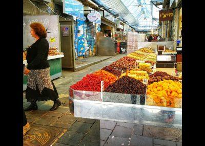 getrocknete Früchte am Yehuda Market