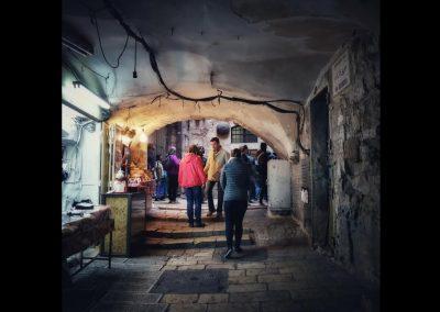 in den Gassen von Ostjerusalem