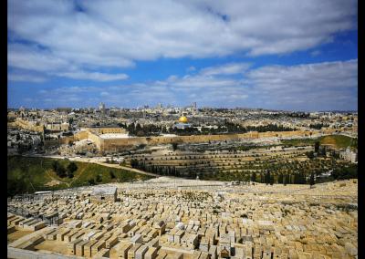 jüdischer Friedhof vor Jerusalem