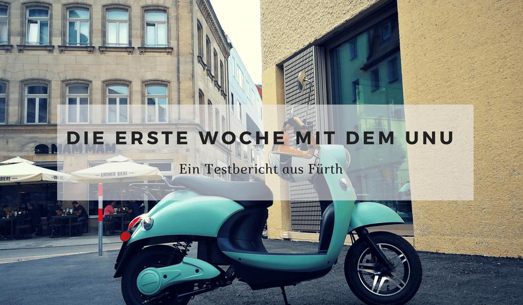 unu Roller fahren in Fürth