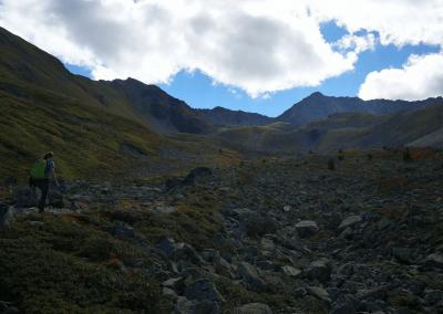 Bergwelt an den Goldseen