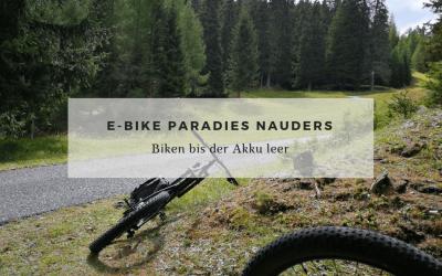 E-Bike Paradies Nauders am Reschenpass