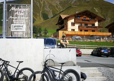 Parkplatz in Melager