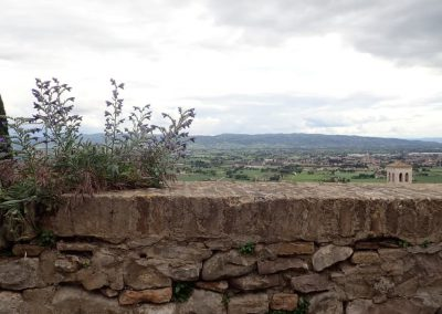 Mauer in Assisi