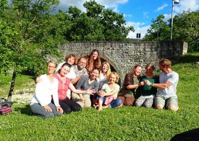 Teilnehmer des Yoga Retreat in Assisi