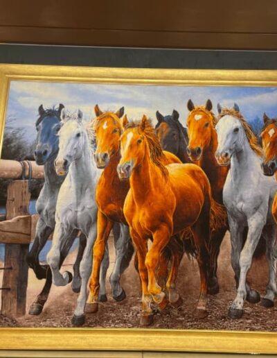 Teppich mit Pferde im Avanos Hali
