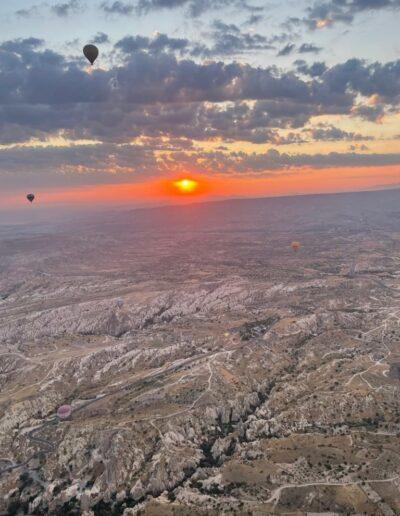 Sonnenaufgang in Kappadokien